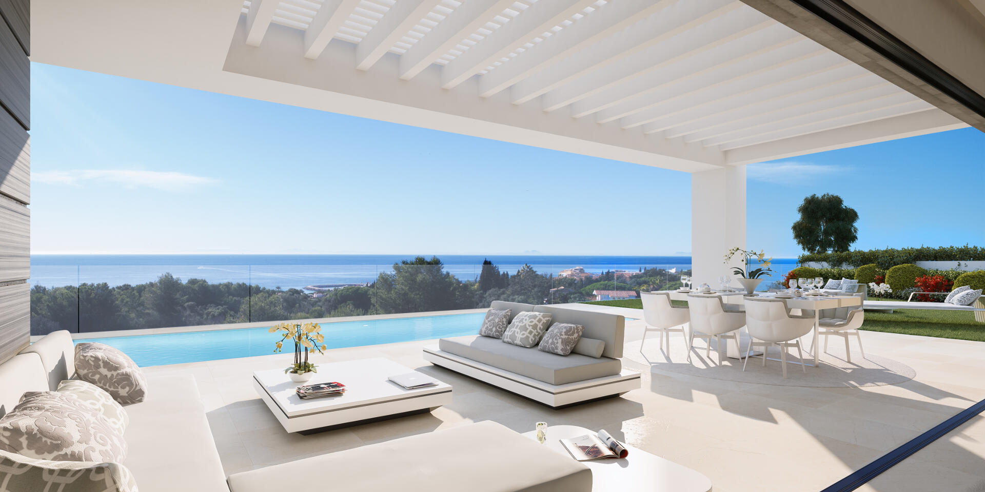 Caboroyale new modern villa with sea views for sale East Marbella