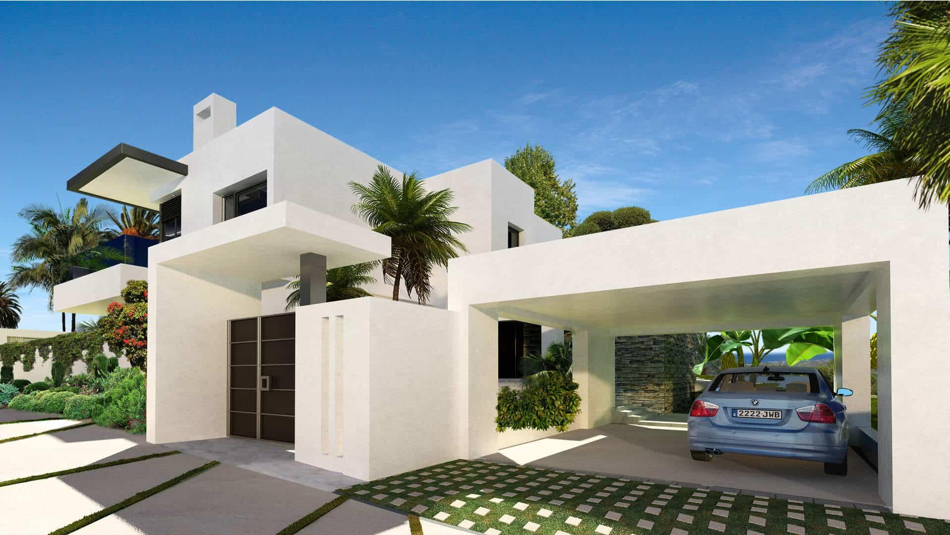 Concept villas for sale lomas de marbella club realista for Concept villa