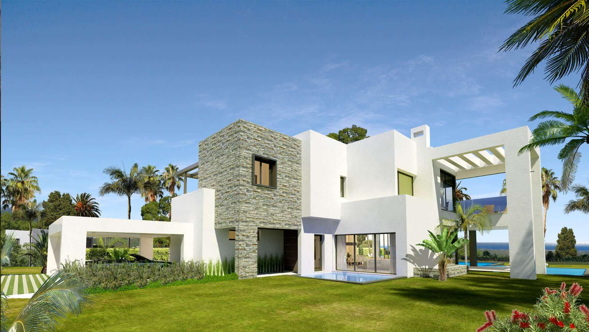 Concept villas for sale lomas de marbella club realista - Marbella club villas ...