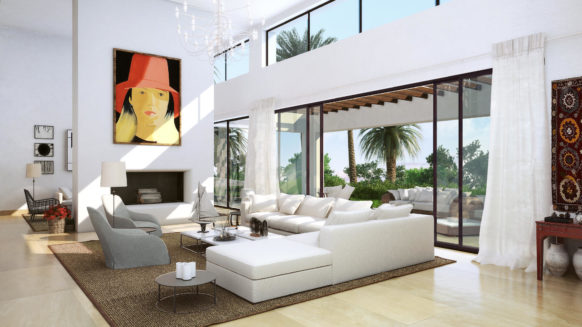 Contemporary villa for sale within Finca Cortesin GREEN 10 type B
