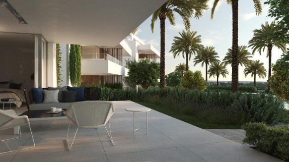 New ground floor apartment in UNICO Los Arqueros Benahavis for sale