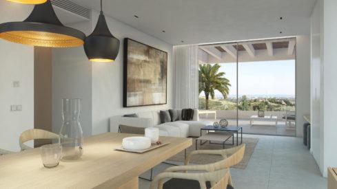 Unico Benahavis apartment penthouse Los Arqueros for sale new project development_Realista Qualities Marbella