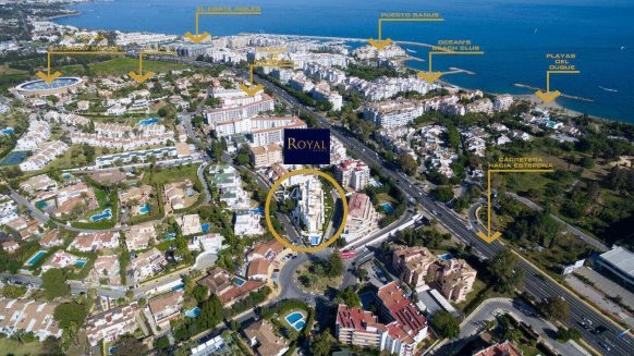 Modern style new penthouse Puerto Banus Marbella for sale