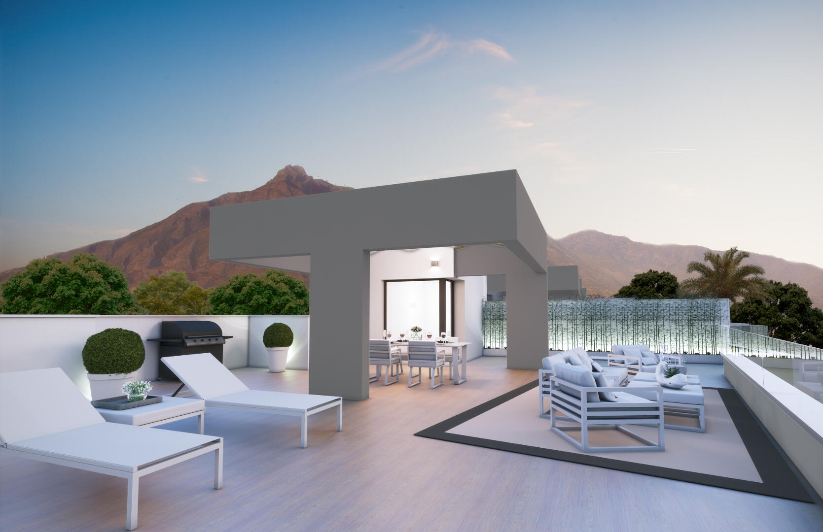 New penthouse with solarium in Royal Banus Marbella for sale