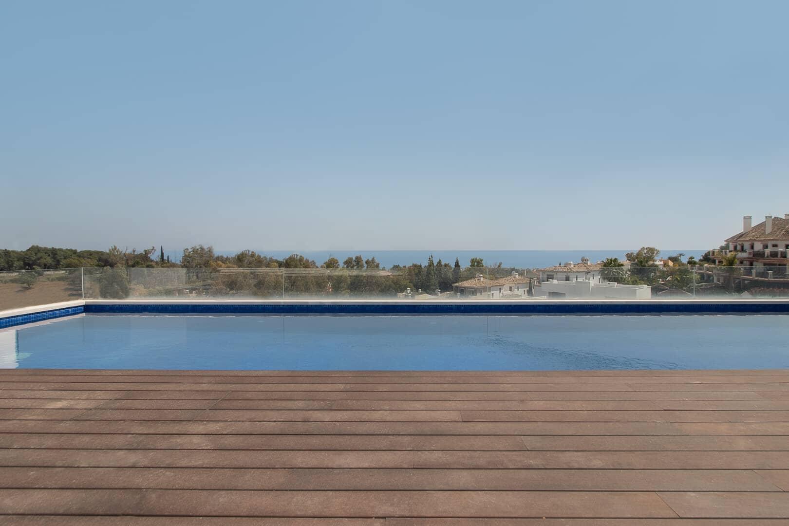 Breath taking penthouse for sale in Señorío de Vasari Marbella Golden Mile