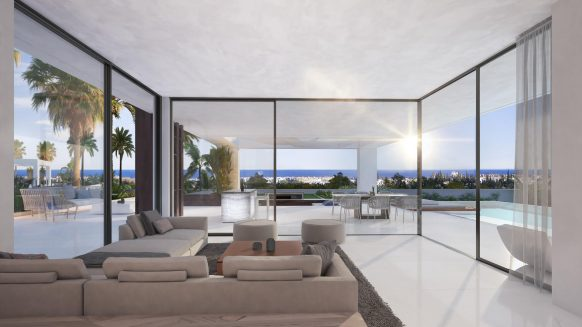 Velvet new development of villas with Sea Views in Cancelada Estepona