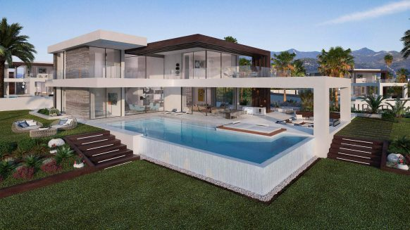 Estepona villa for sale in new development Velvet