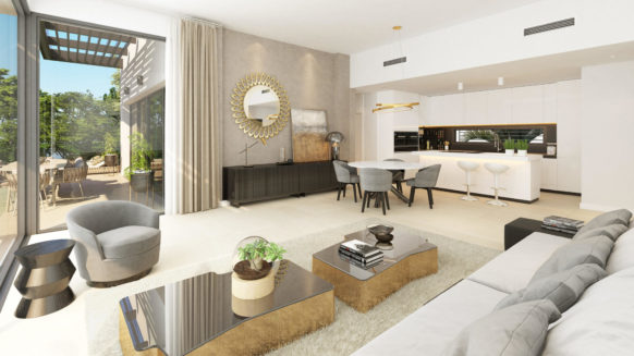 New Apartment for sale in Benahavis Aqualina a spectaculair new development with on site facilities