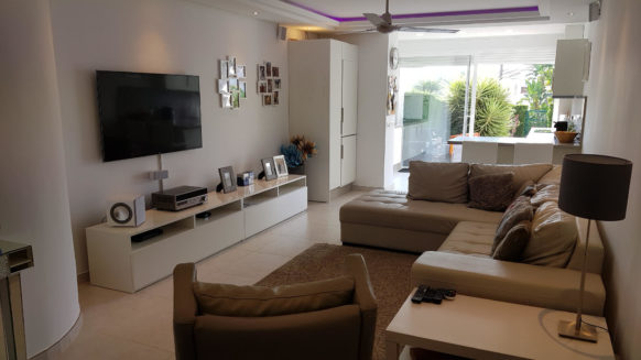 Sun Gardens 3 bedroom ground floor apartment El Paraiso Benavista Estepona