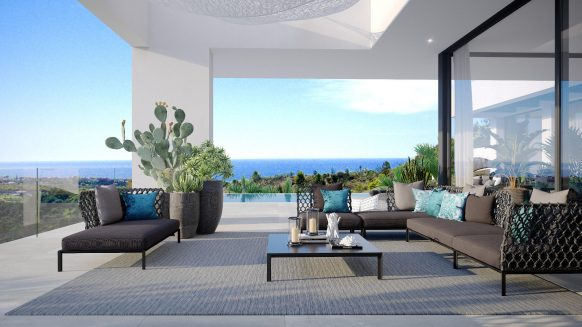 THE VIEW new luxury Villa with sea views in Estepona New Golden Mile