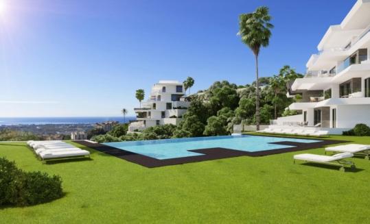 BYU Hills Apartments Penthouses Benahavis new build sea view_Realista Quality Real Estate Marbella