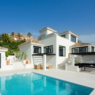 Completely renovated modern Los Naranjos Hill Club villa with sea views Nueva Andalucia_ Realista Quality Real Estate Marbella