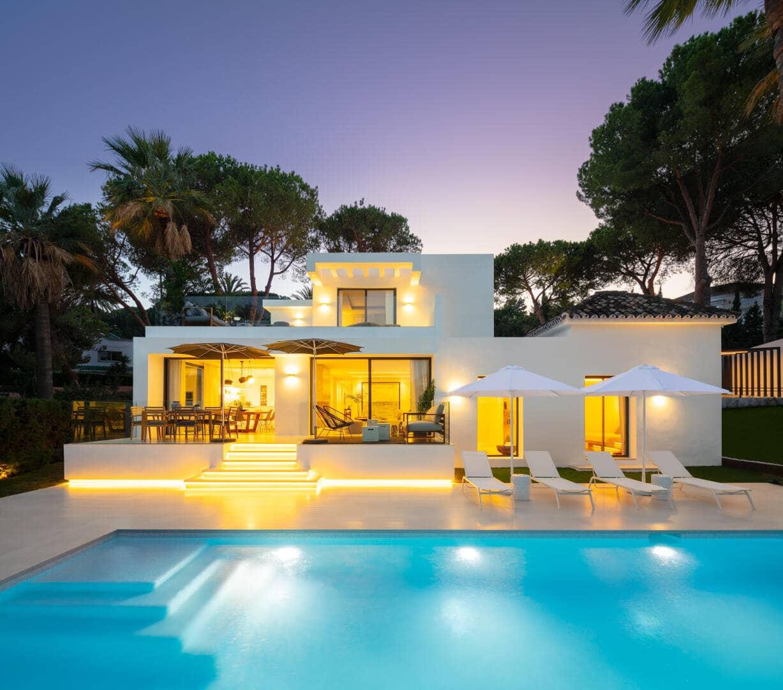 Renovated Villa Eskina in Las Brisas Nueva Andalucia