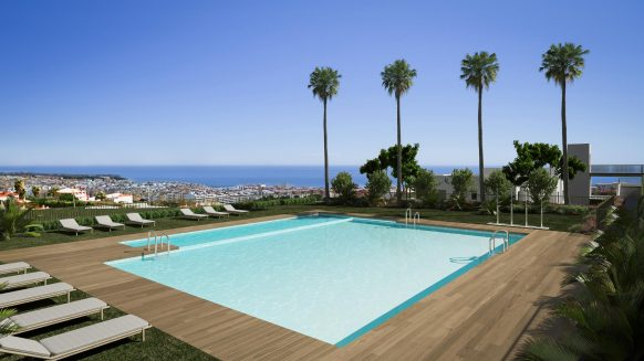 4 bedroom Sea View apartment in Las Mesas Homes Estepona, city center living