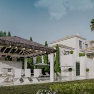 Latest development La Zagaleta Villa D'art for sale_New classical Andalusian style with modern design_Realista Quality Real Estate Marbella