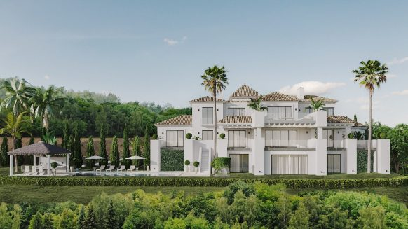 One of the latest developments in La Zagaleta is Villa d'Art, a true piece of art close to Marbella