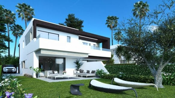 Semi-detached 4 bedroom home in Oasis 22 Estepona on the New Golden Mile