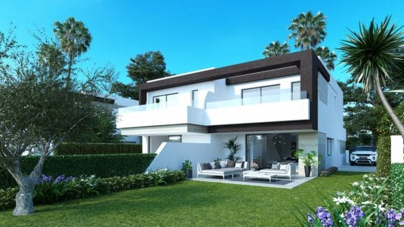 4 bedroom semi-detached new house in Estepona on the New Golden Mile