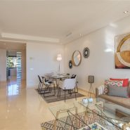 Two bedroom sea view furnished apartment in Mirador de Estepona benahavis