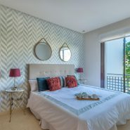 Two bedroom sea view furnished apartment in Mirador de Estepona benahavis