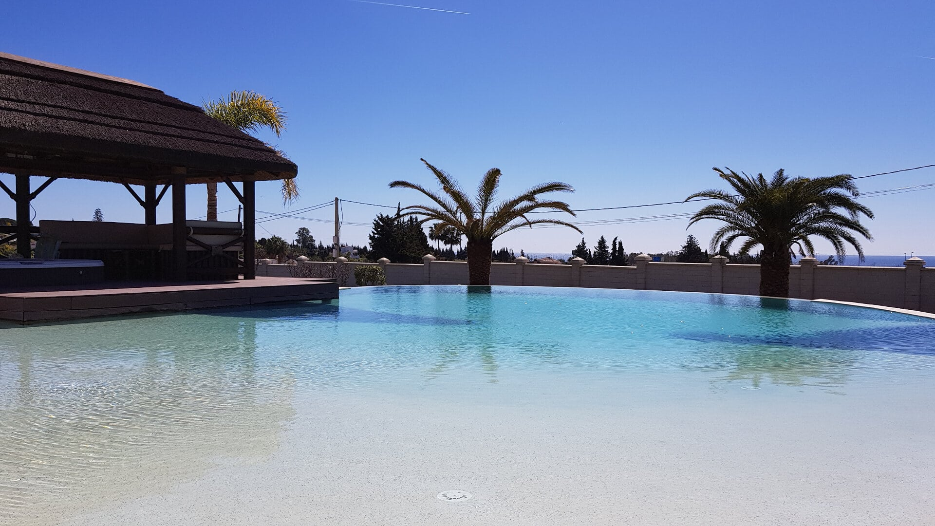 Sea view Estepona villa country side living at its best!