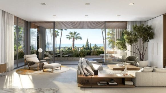 Le Blanca new villa in Sierra Blanca Marbella offers amazing sea views