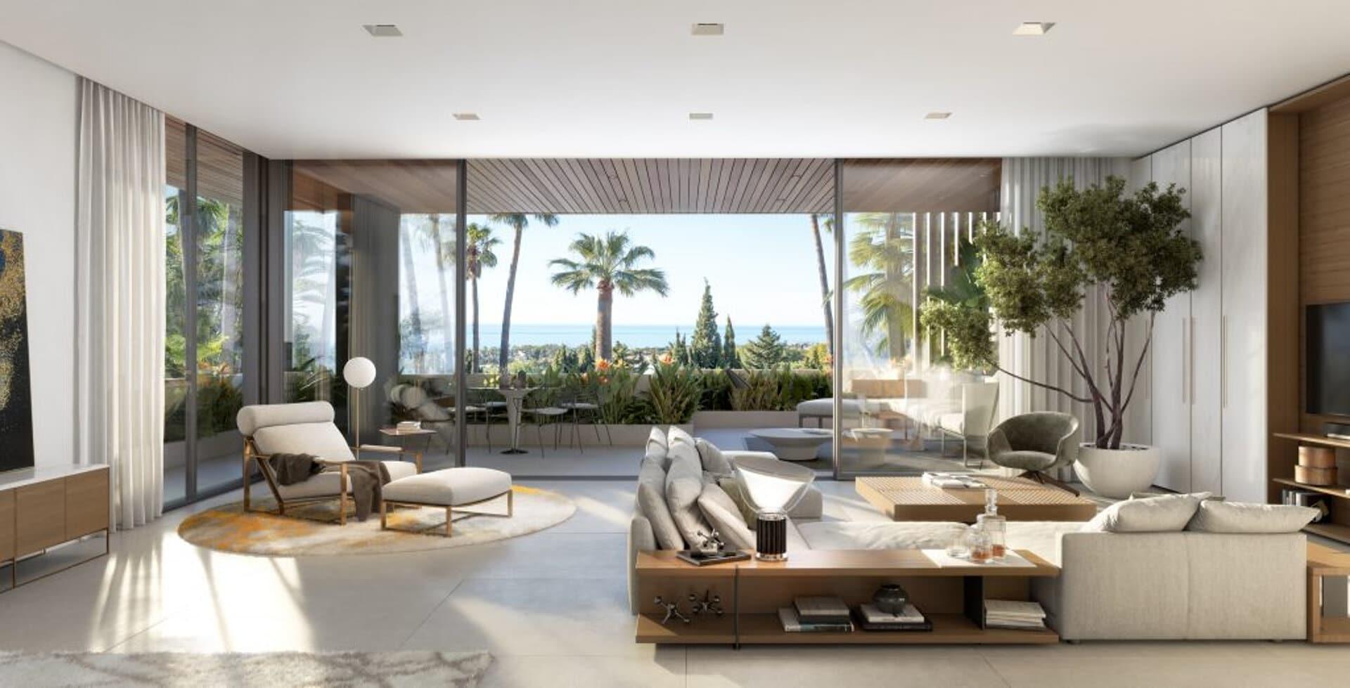 Le Blanca new villa in Sierra Blanca Marbella offers amazing sea views