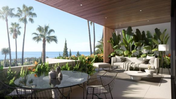New villa in Sierra Blanca Marbella with amazing views in Le Blanc, a new luxury Marbella development