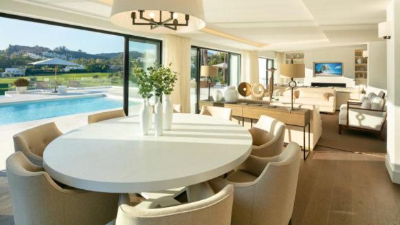 Stunning renovated front line golf villa in Los Naranjos Nueva Andalucia Marbella