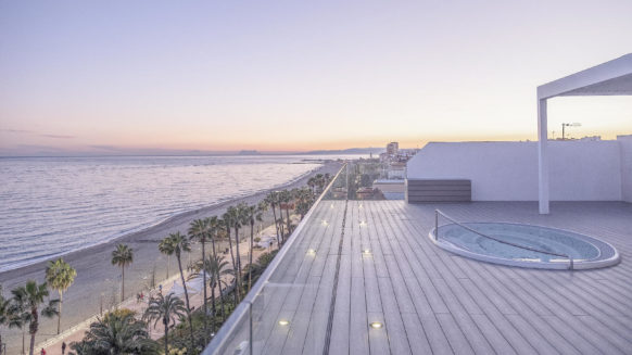 Front Line Beach Estepona Penthouse
