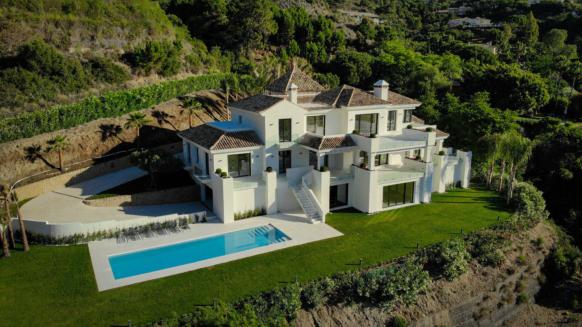 New villa in La Zagaleta, atruepiece of art close to Marbella