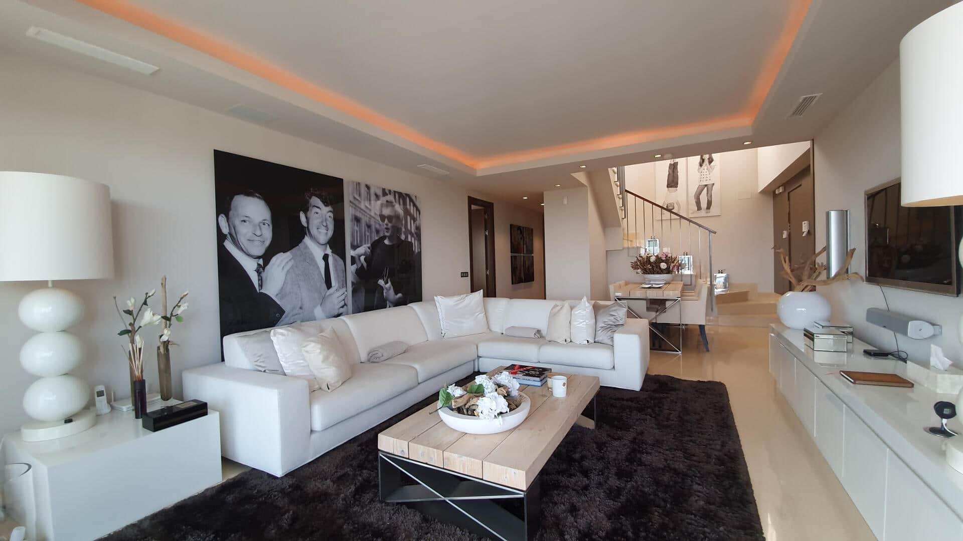 Impressive 3 bedroom duplex penthouse in Arrayanes Golf Benahavis