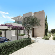 Takara New front line golf Villas in Estpona_Realista Real Estate Marbella