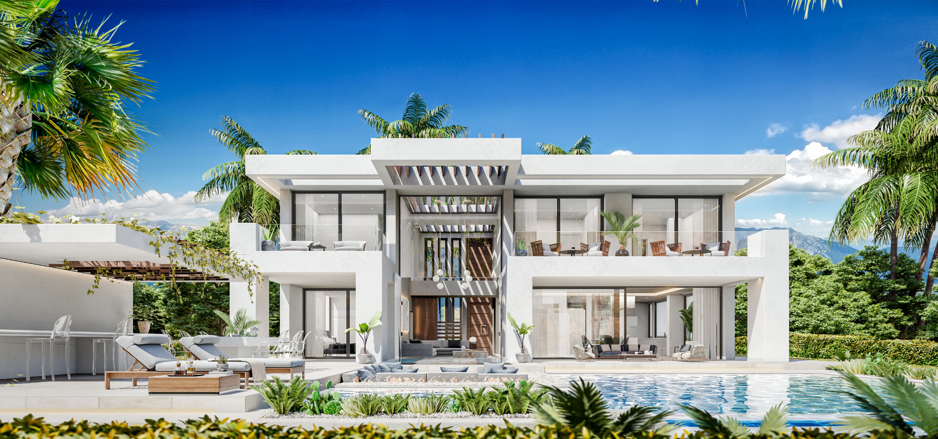 villa development New Heights la resina Golf estepona_realista Quality real estate Marbella