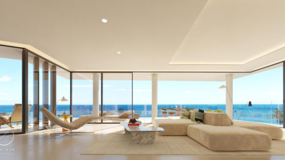 Spectacular Penthouse Beach Front in Estepona offering privacy and amazing panoramic sea views!