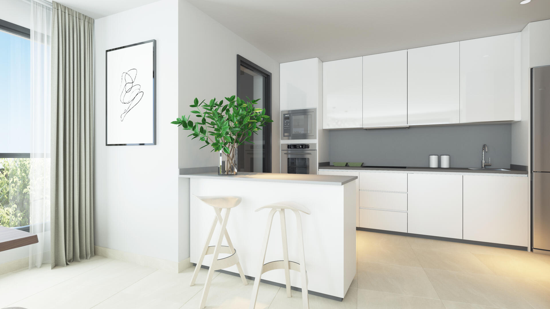 Dora Maar new city apartment with 3 bedrooms in San Pedro, Marbella