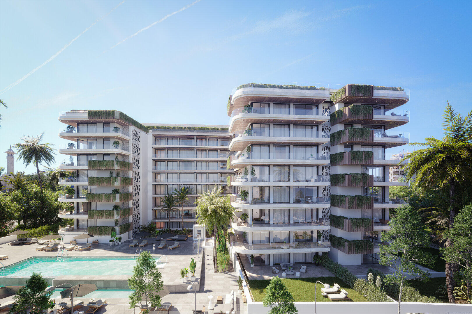 City apartment at a 100m2 from the beach in Jade Tower Fuengirola 15 minutes from Malaga airport