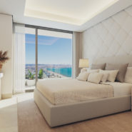 Malaga Picasso Towers new build front line sea apartment penthouse_Realista Real Estate Marbella
