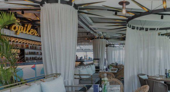 Spiler Beach Club inside restaurant