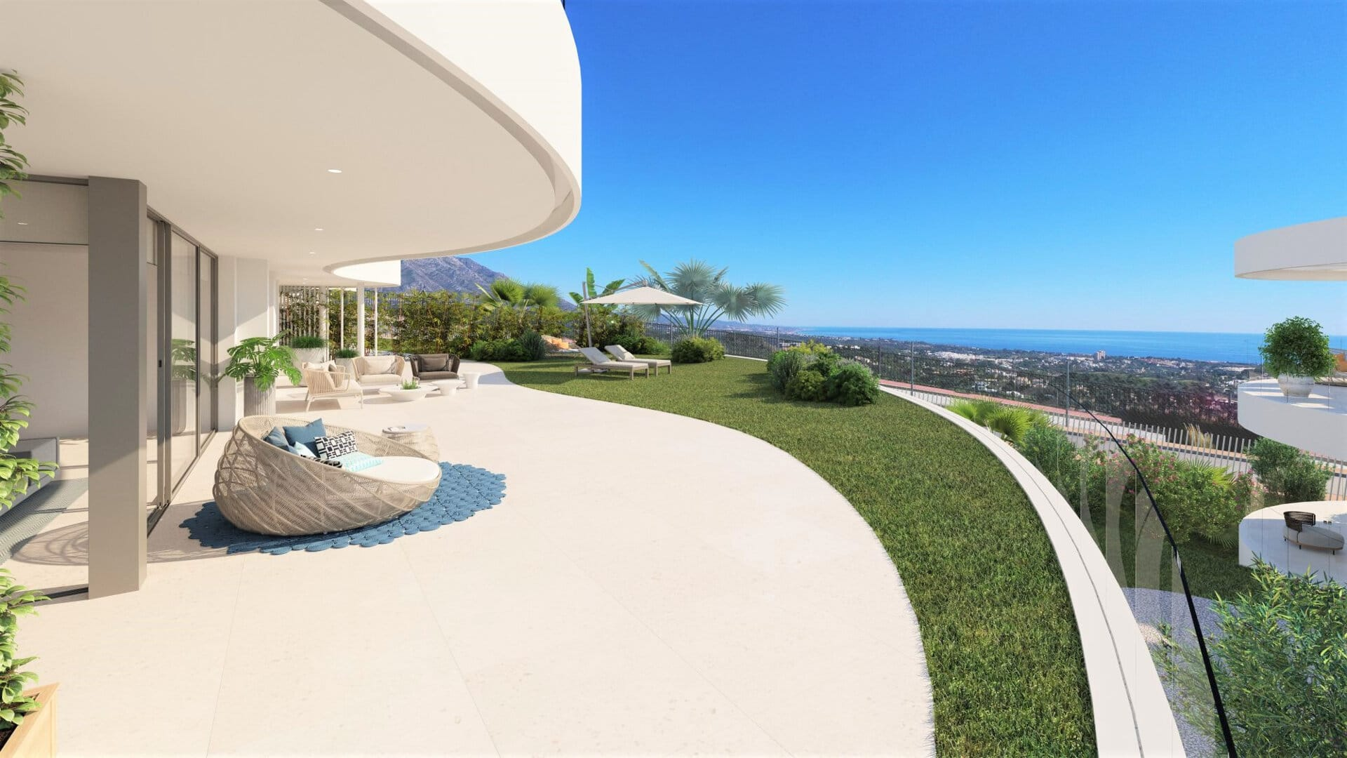 The view Marbella apartment